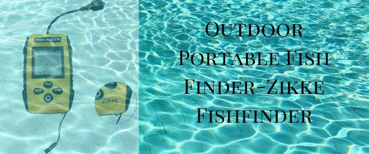 Outdoor Portable Fish Finder-Zikke Fishfinder