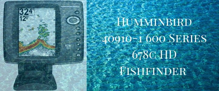 Humminbird 40910-1 600 Series 678c HD Fishfinder